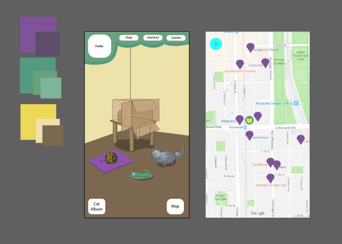 AR UX Design: Sparkle Kitty (OngoingProject)